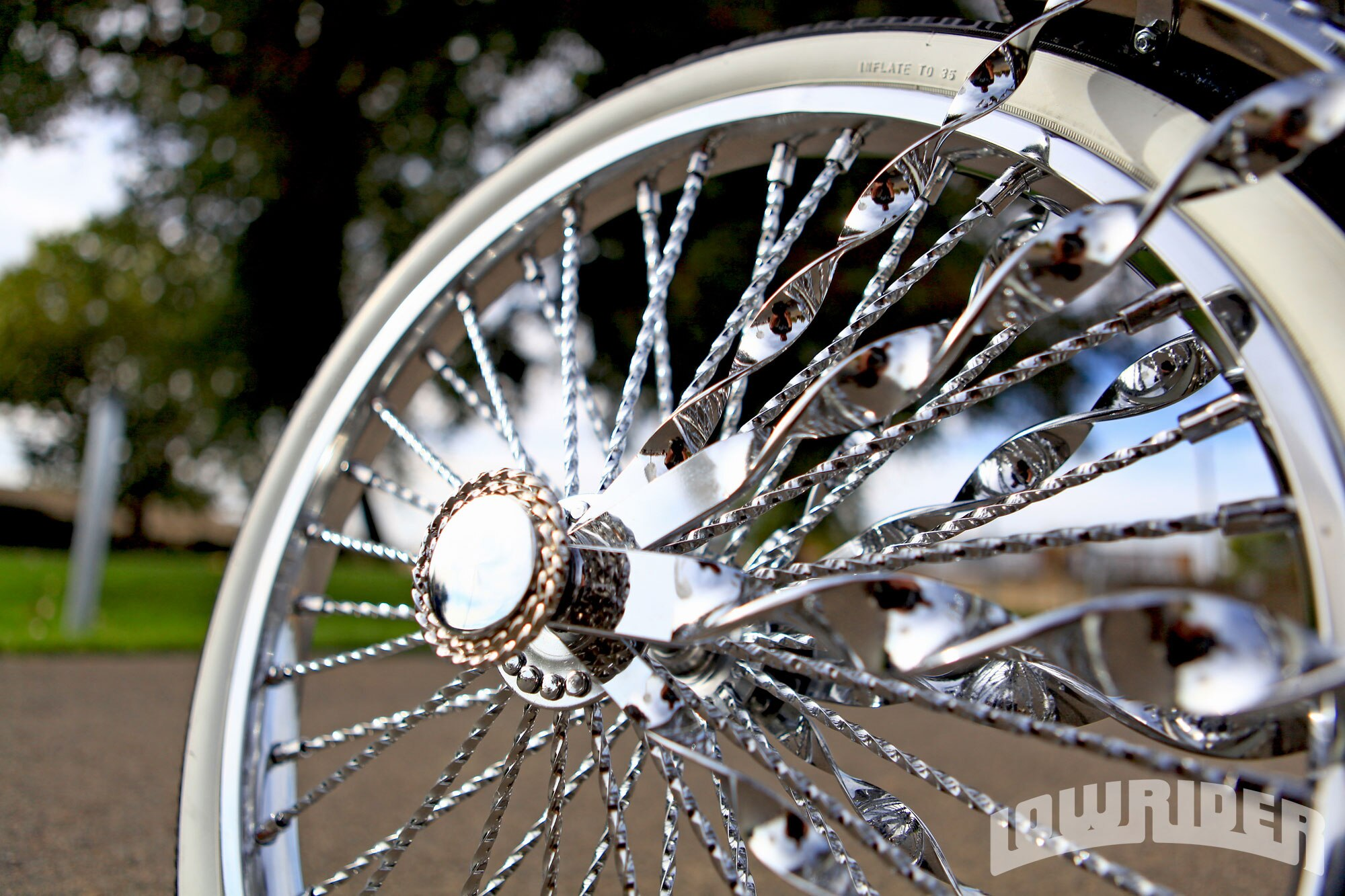 Adrian Hernandez S Lowrider Bicycle Li L Rascal Lowrider Magazine