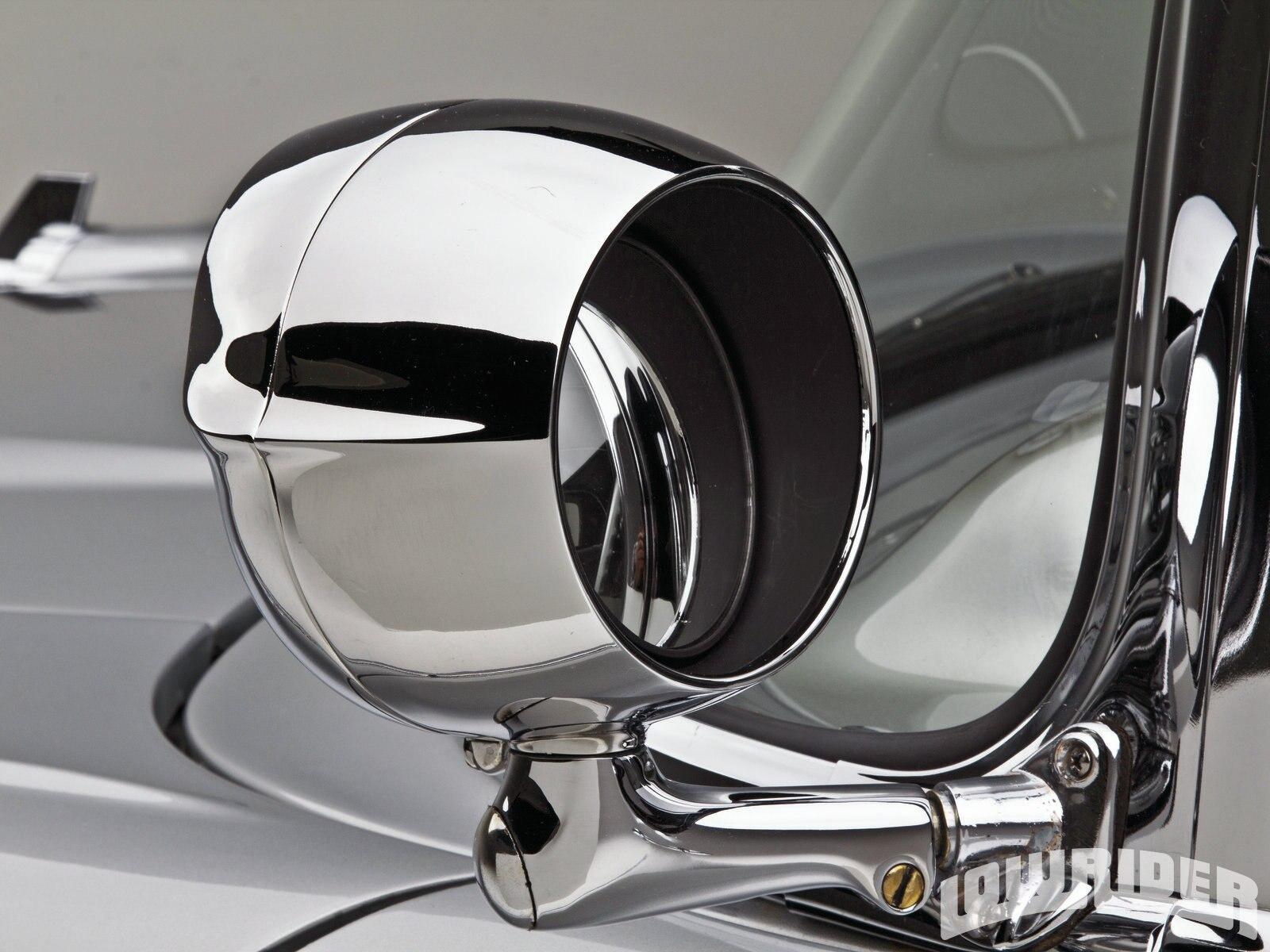 1957 air bel chevrolet lowrider side mirror magazine