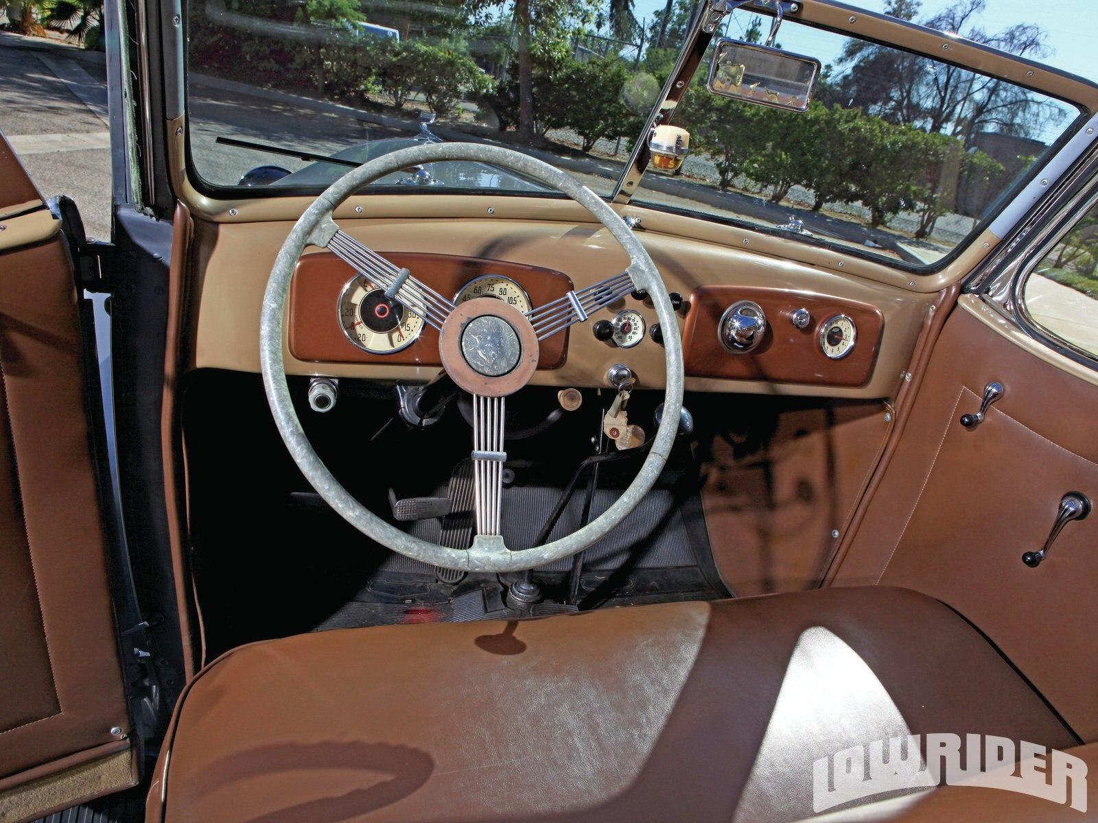 Lrmp O Chevrolet Cabriolet Steering Wheel