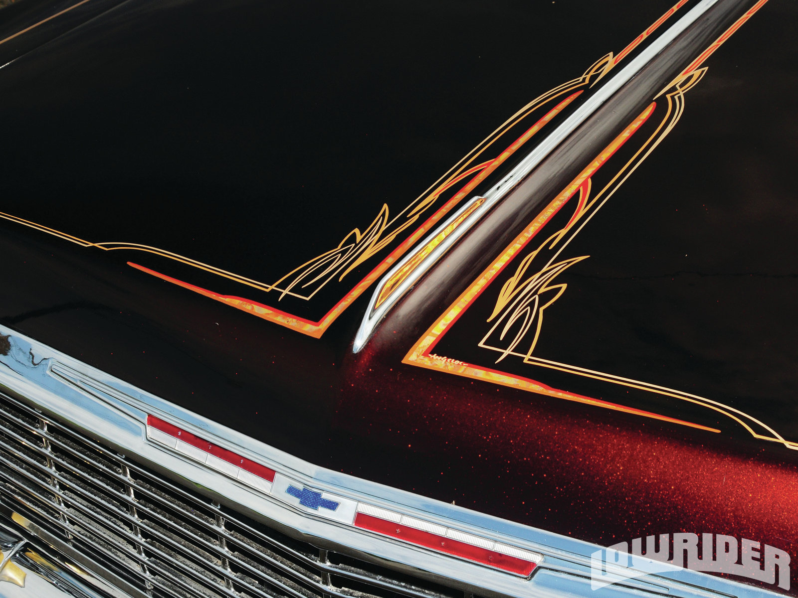 Chevrolet Impala Midnight Edition further  likewise A C D D Ecb A Af Dce Eb likewise X in addition Lrmp O Chevrolet Impala Ss Convertible Pinstriping. on 1964 chevrolet chevy impala