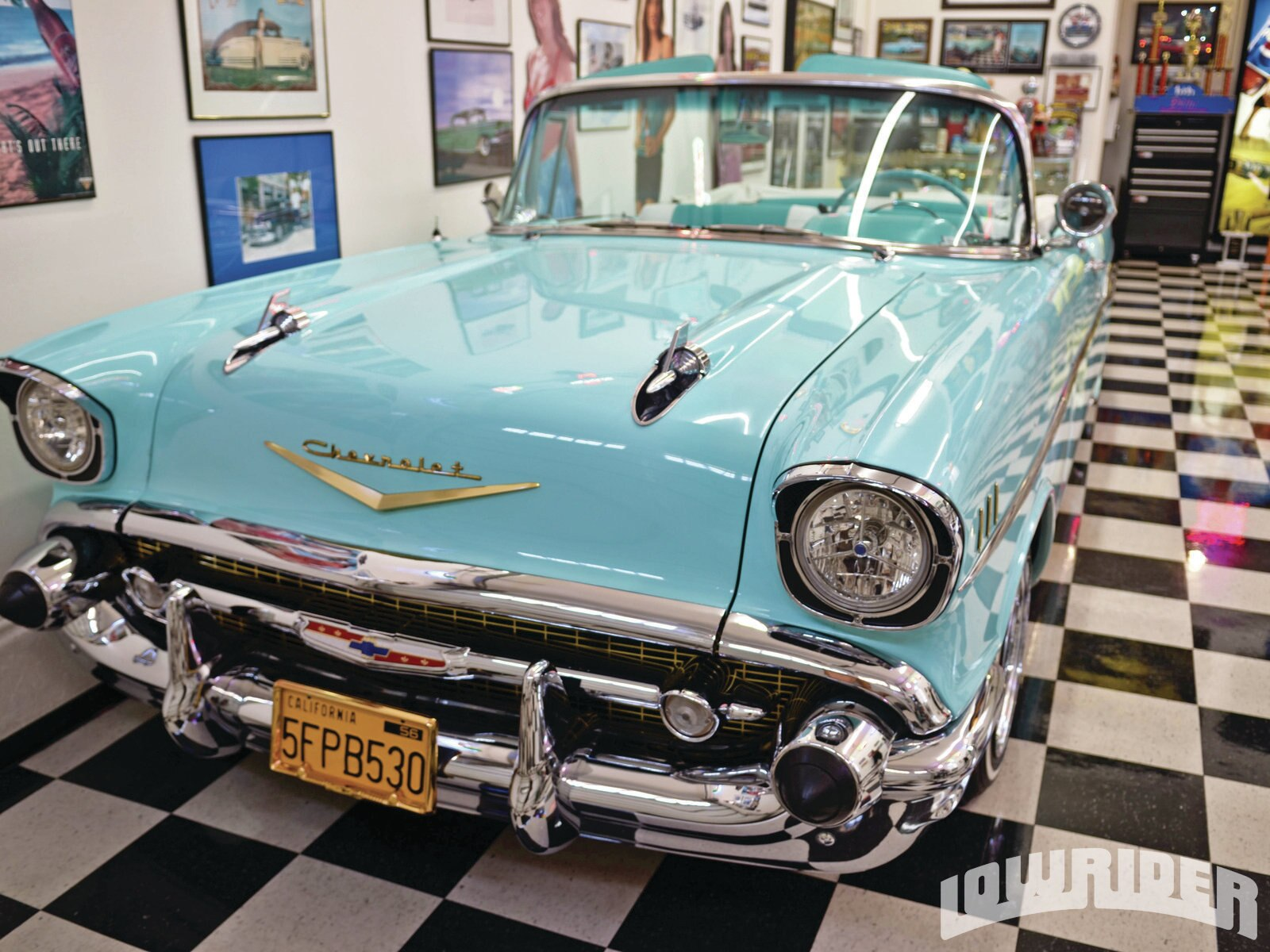 1957 Chevrolet Bel Air Convertible - Lowrider Magazine