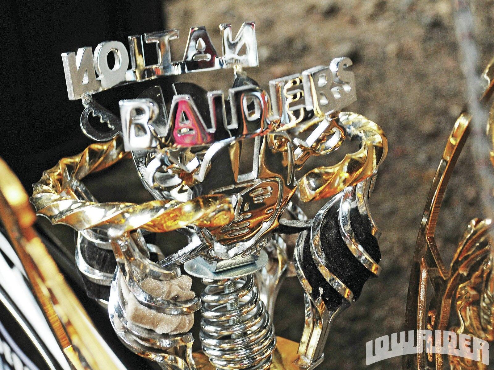 Custom Oakland Raiders Themed Schwinn Frame Lowrider