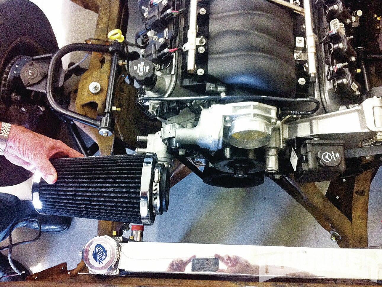 Gm Performance Air Cleaner : Gm performance liter ls lowrider magazine