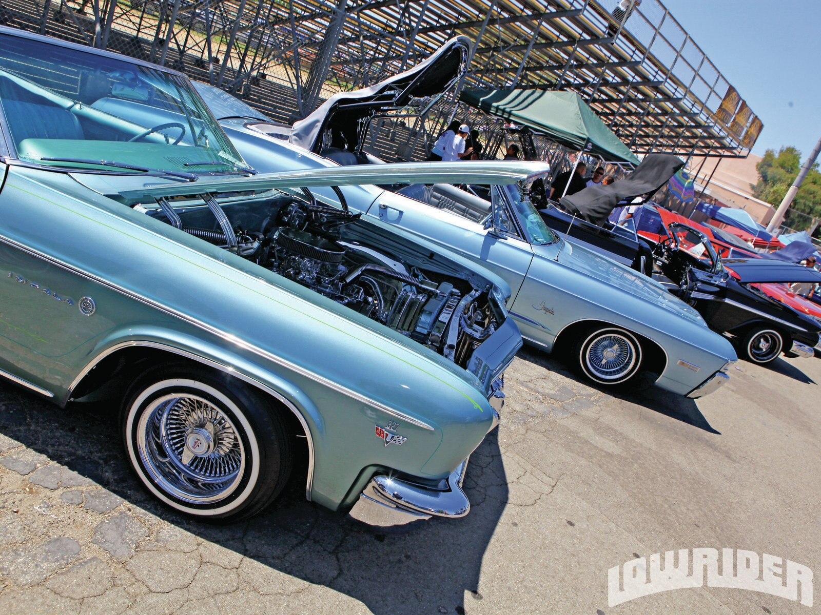 1205-lrmp-01-o-oldies-car-show-concert-chevrolet-impalas1