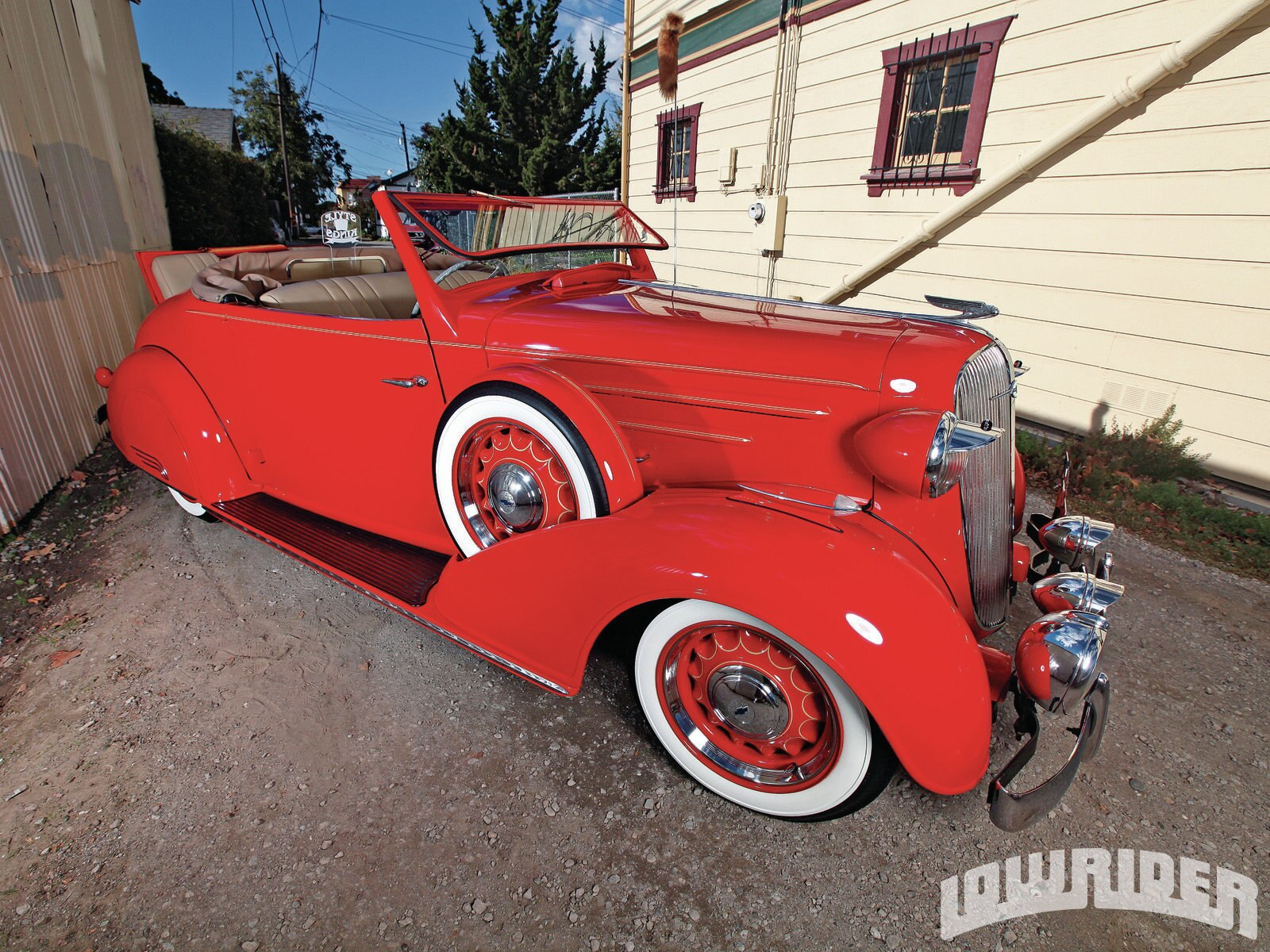 1936 Chevrolet Sport Roadster Lowrider Magazine