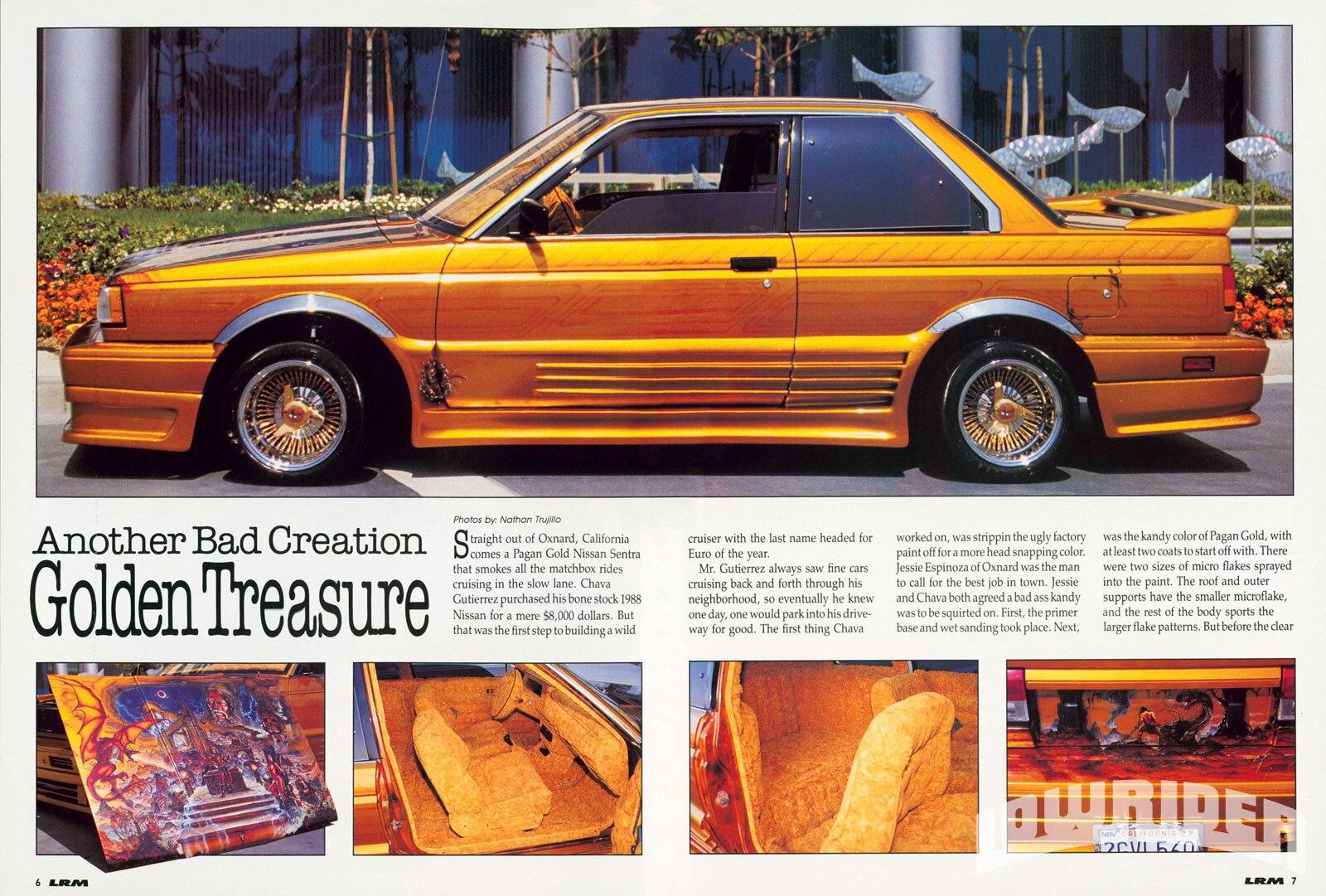 Lowrider Magazine in 1991-1992 - Lowrider Magazine