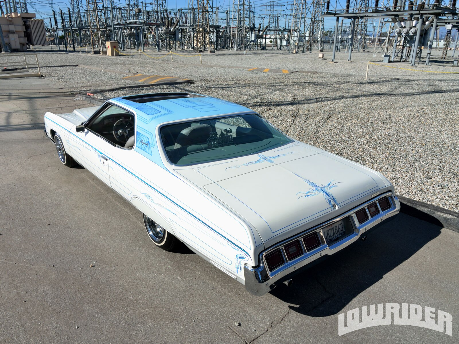 1972 chevrolet impala custom lowrider magazine