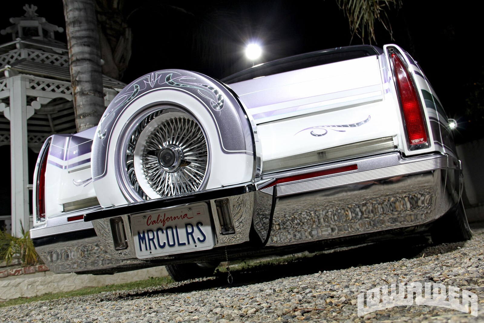 Lrmp O Cadillac Fleetwood Spare Tire