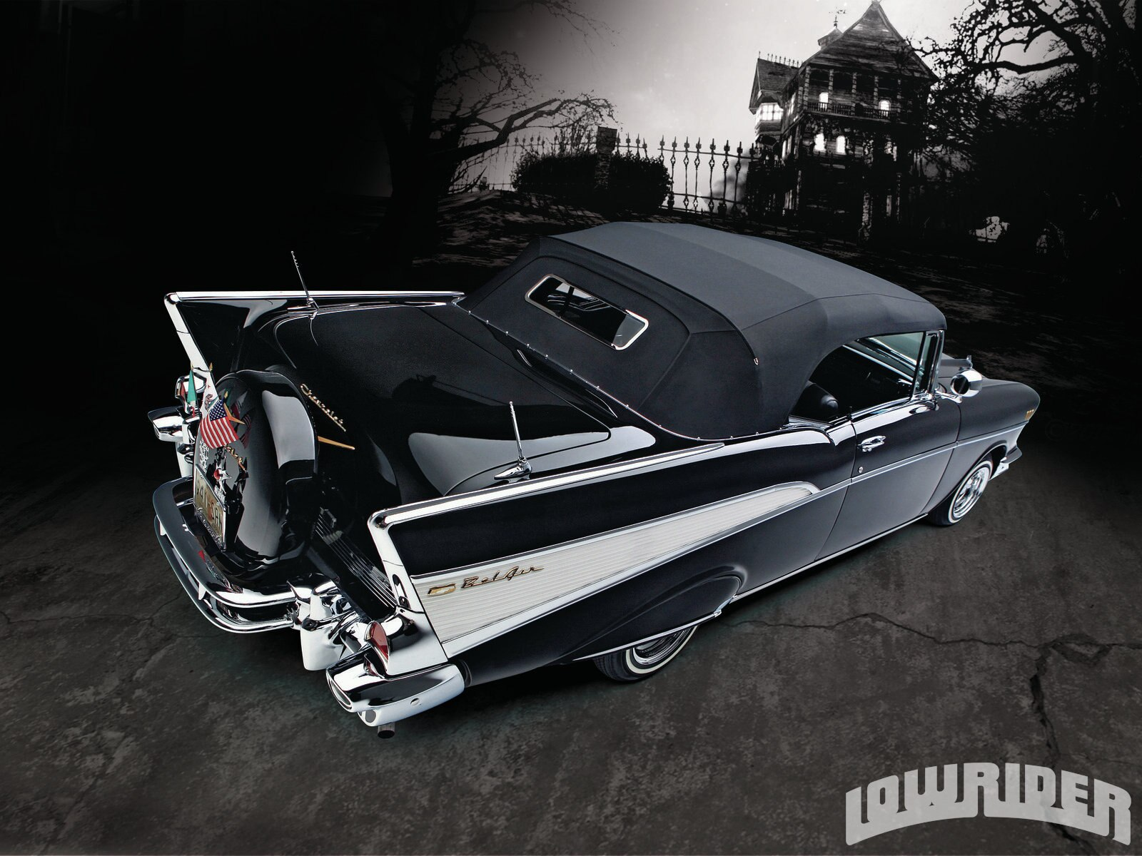 1957 Chevrolet Bel Air Lowrider Magazine