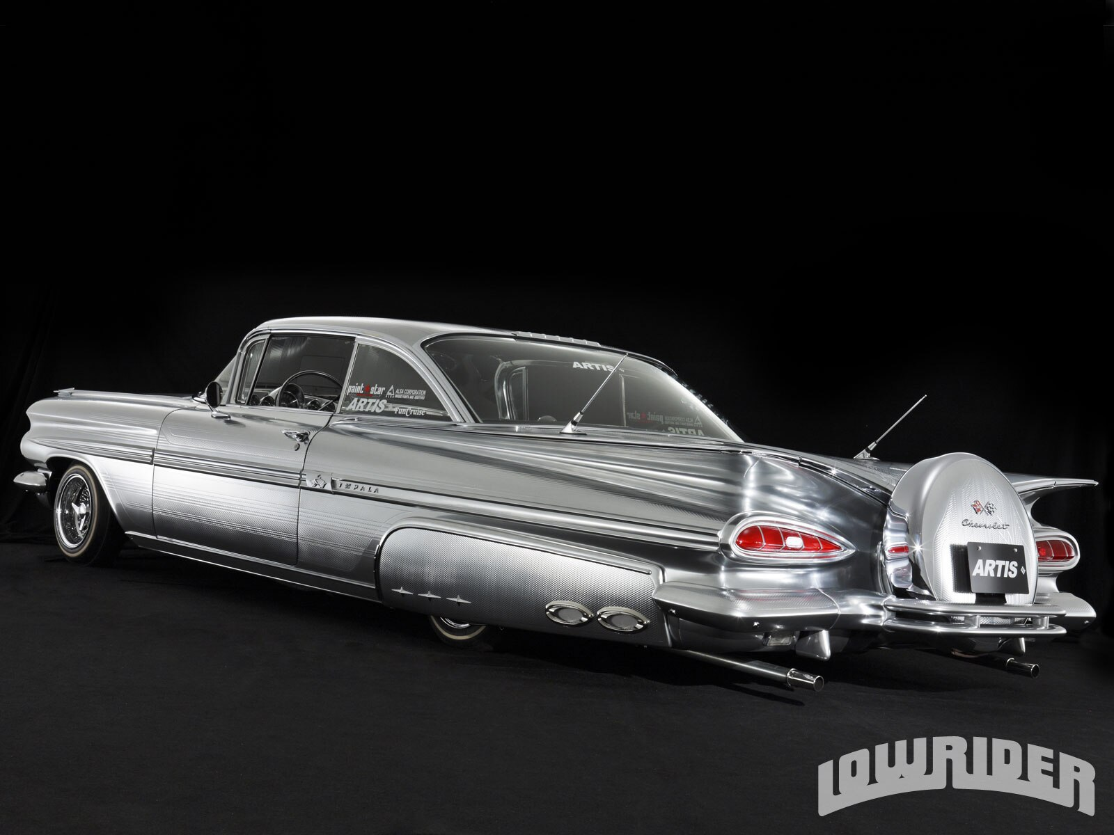 Cheap Chevy Impala Lowrider Wallpaper With