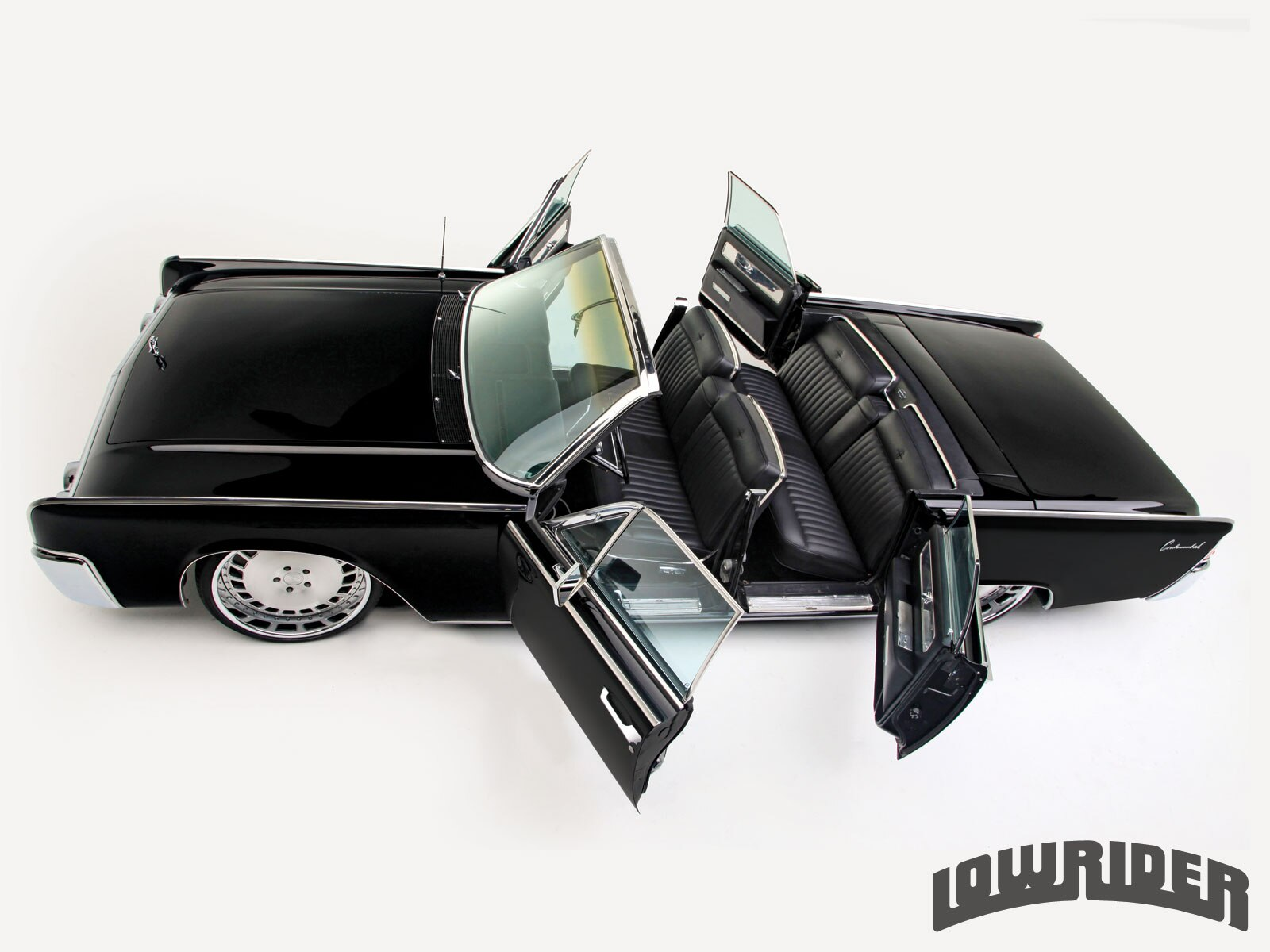 1212 Lrmp 01 O 1963 Lincoln Continental Convertible Suicide Doors
