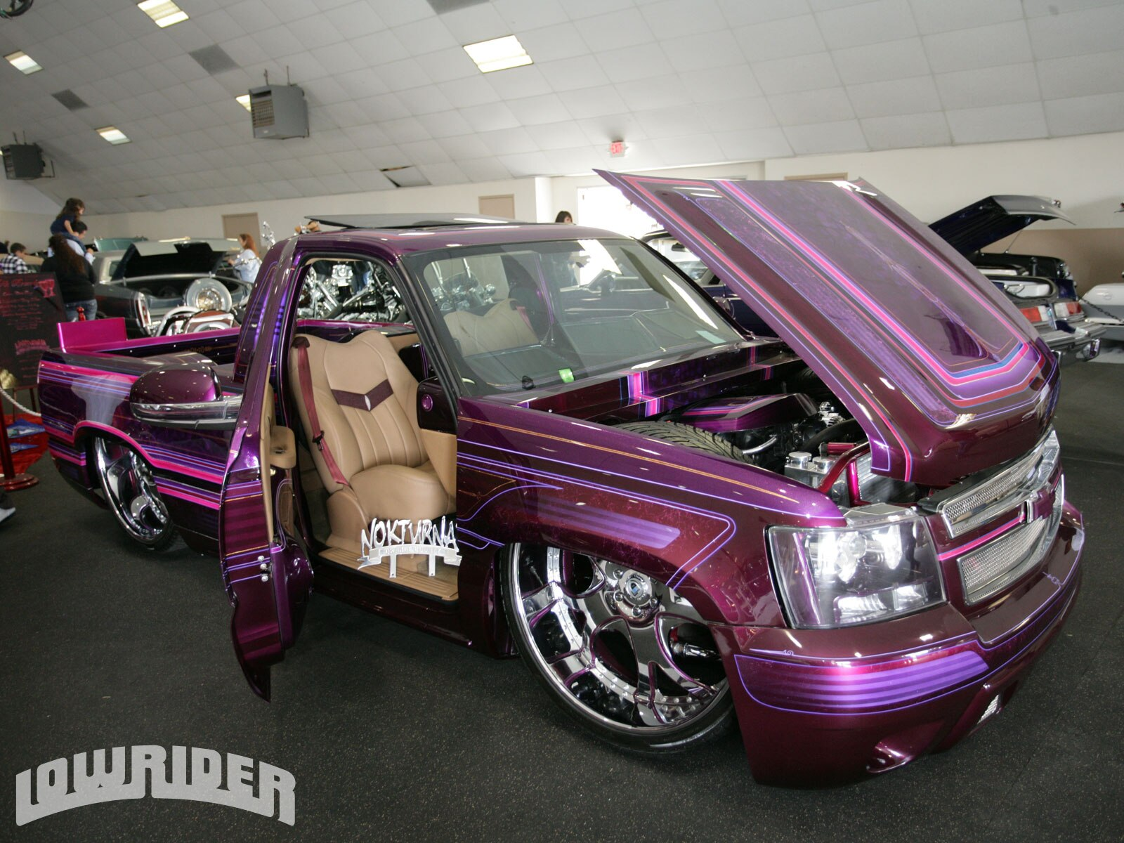 california car cycle super show lowrider magazine. Black Bedroom Furniture Sets. Home Design Ideas