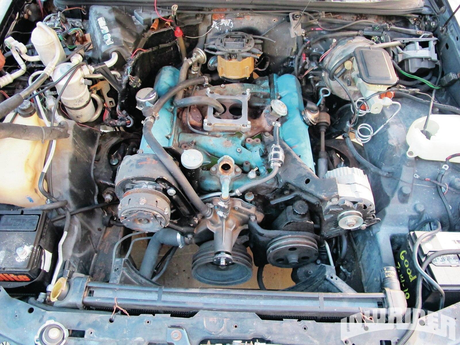 1984 Buick Regal Engine Swap