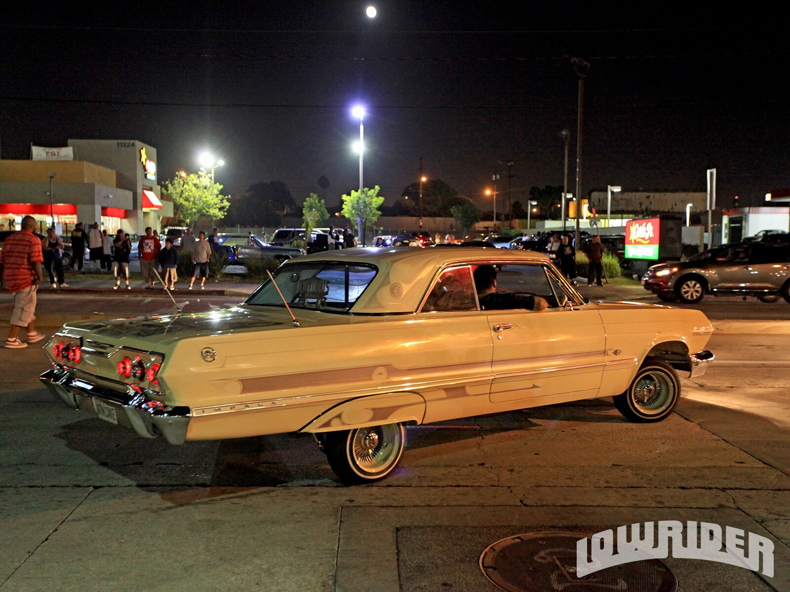 Lrmp O Lowrider Street Cred South Central La Lowrider Rear Right View on 1985 Buick Regal