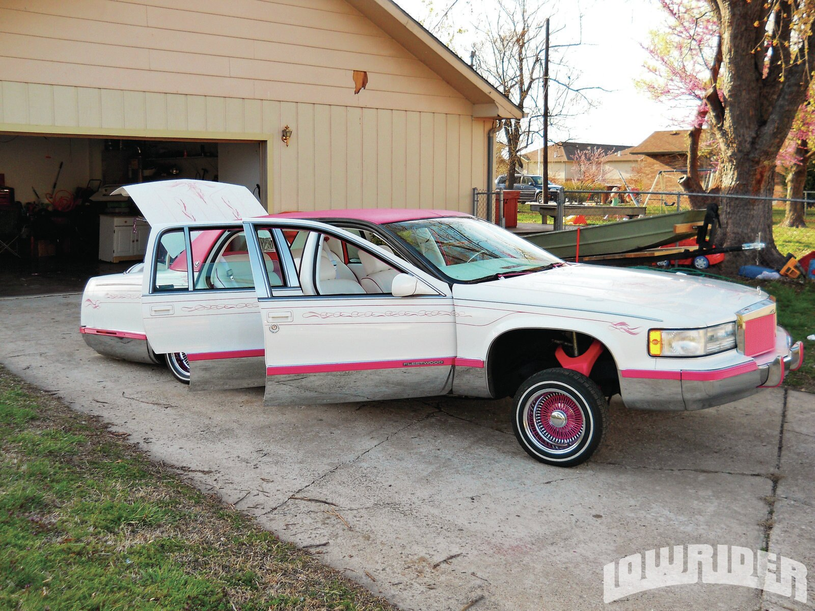 Low Rider 1995 Cadillac Deville