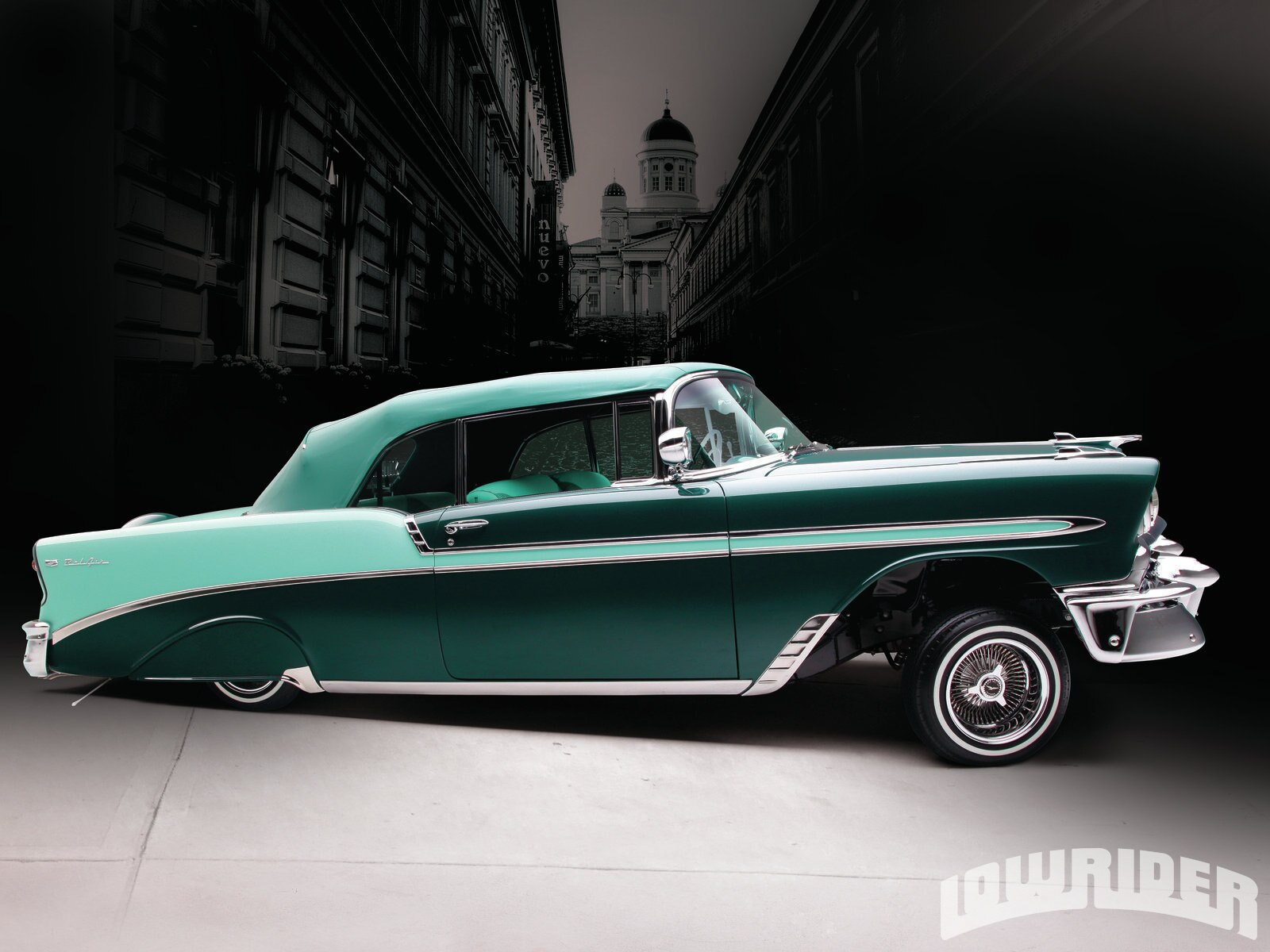 1956 Chevy Bel Air Convertible - Lowrider Magazine