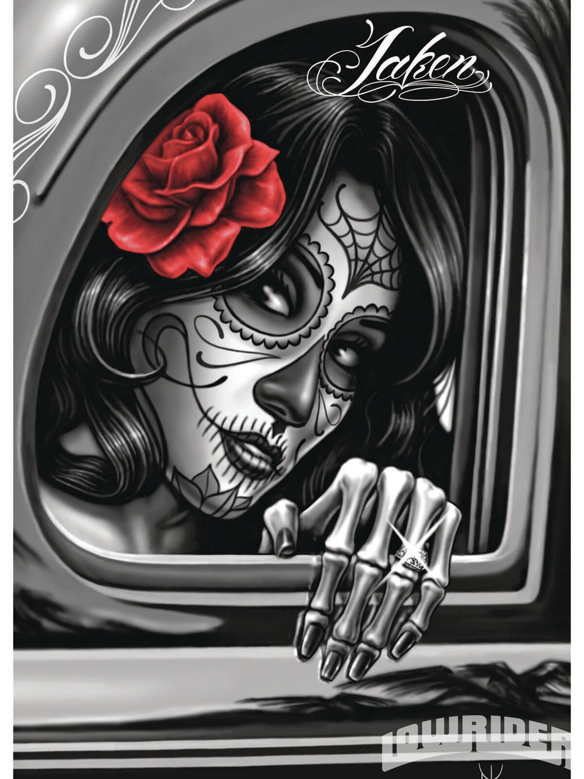 david gonzales art lowrider magazine
