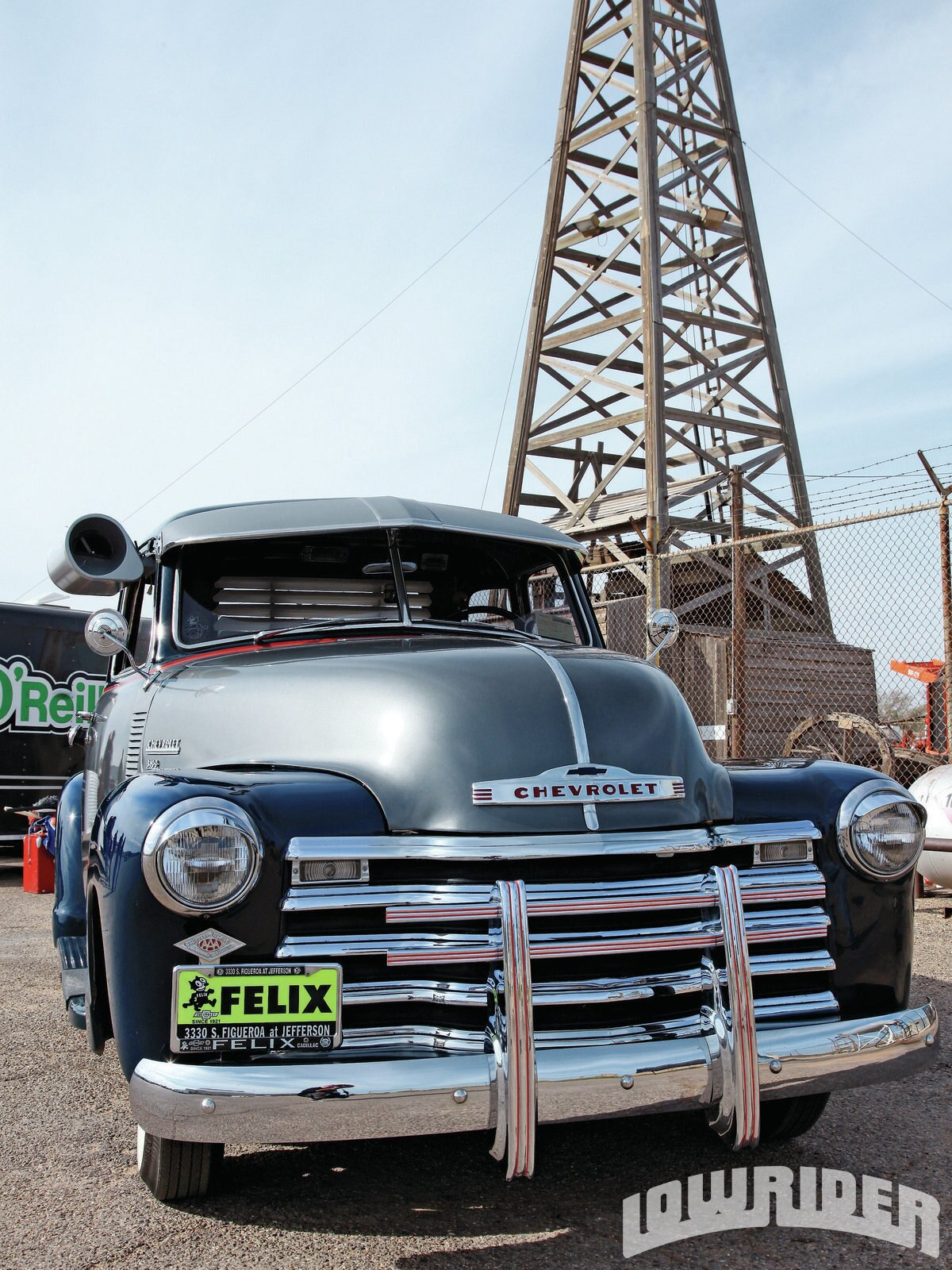 Grill Guards For Trucks : Chevy truck lowrider magazine