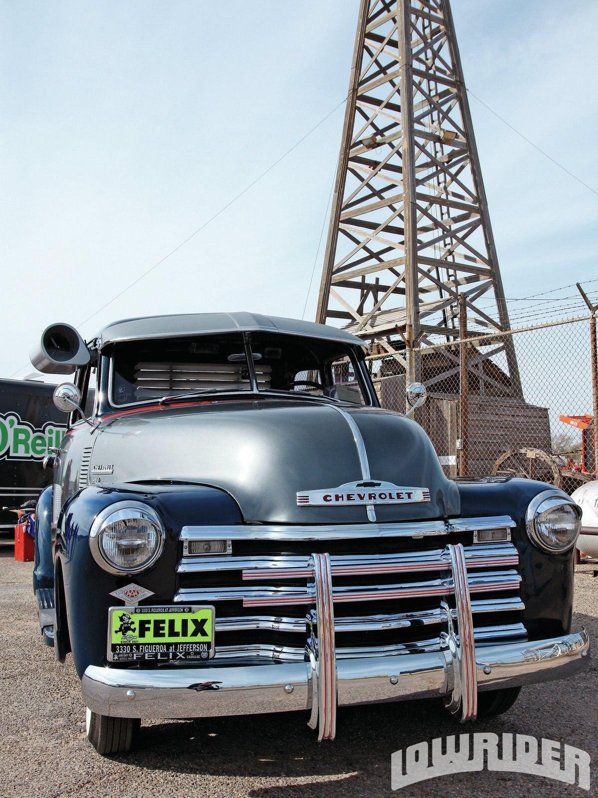 Pickup Brush Guard : Chevy truck lowrider magazine