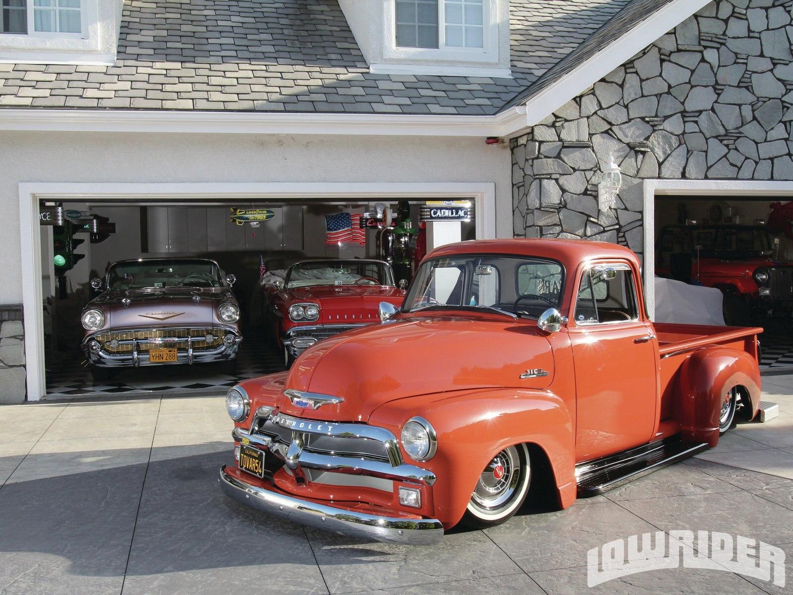 1954 Chevrolet 3100 Pickup Truck Thriftmaster - Lowrider ...
