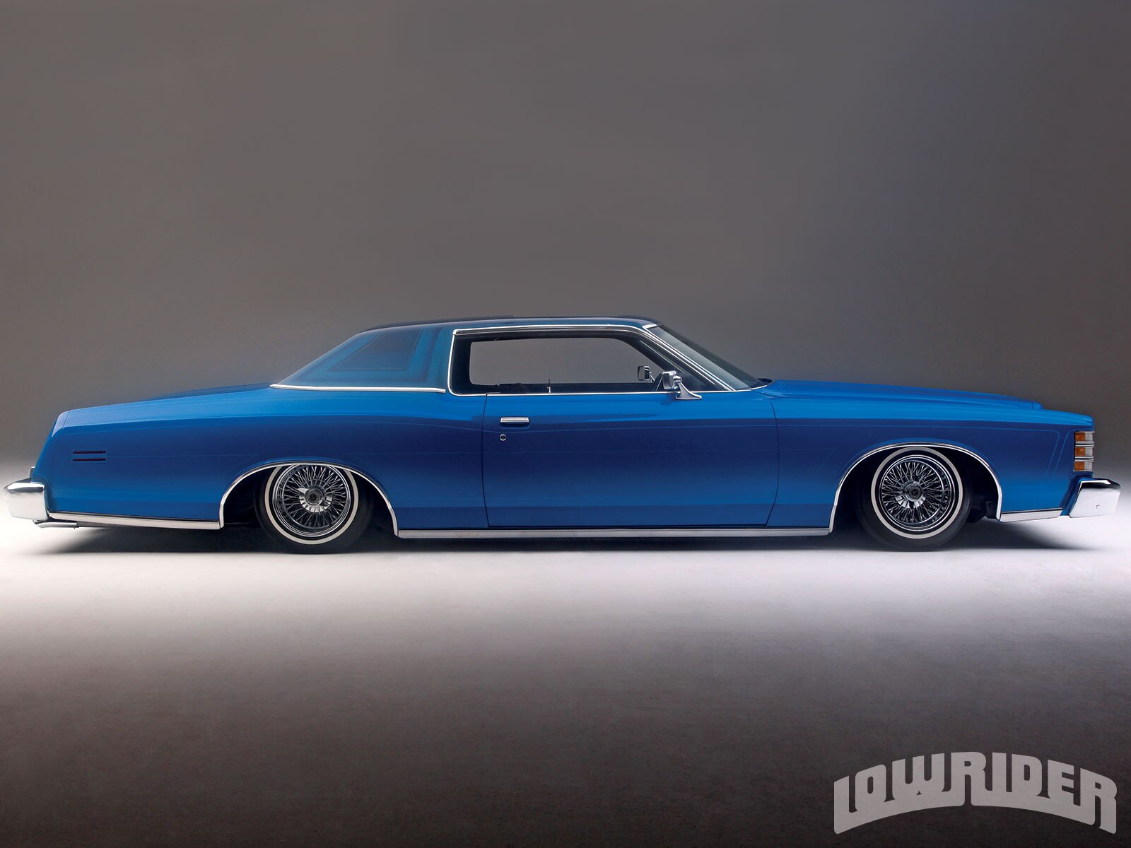 1973 Ford LTD - True Blue - Lowrider Magazine