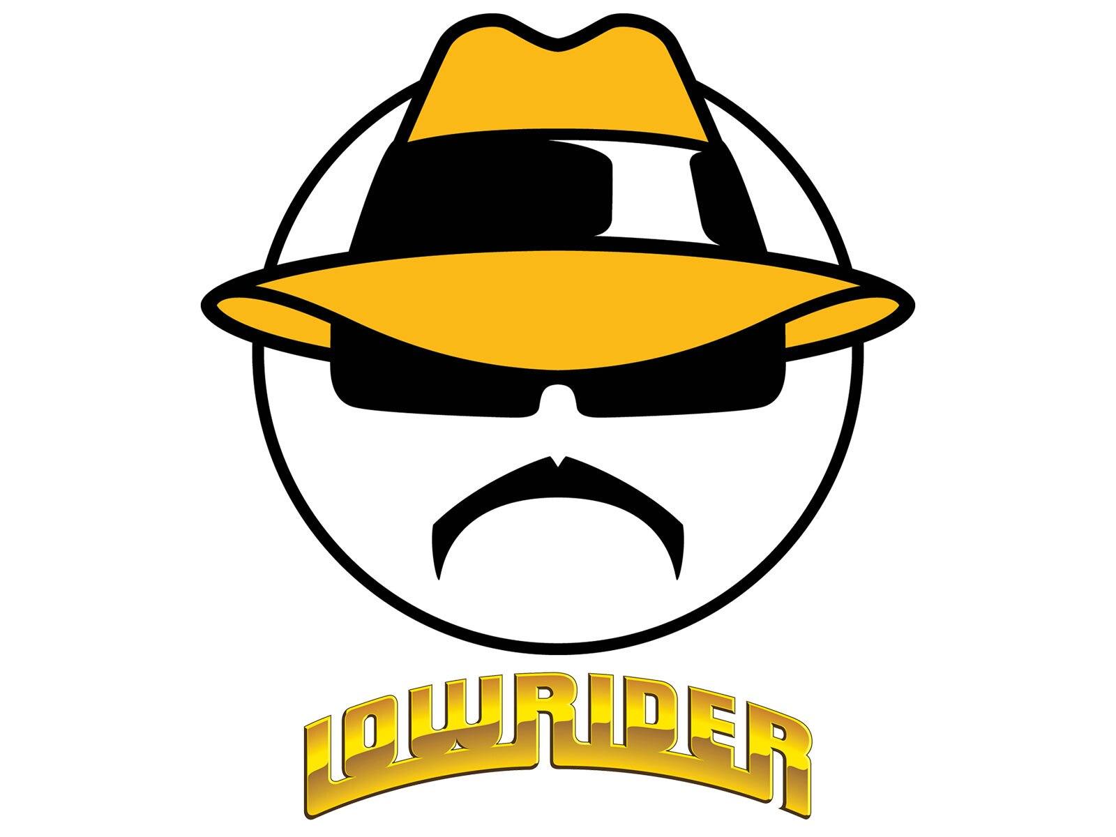 Lowrider Face Logo