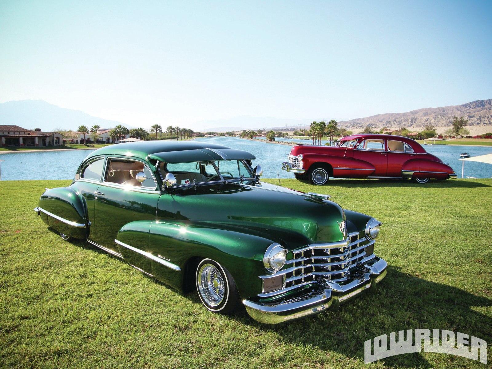 1946 Cadillac Club Coupe 62 Series And 1947 Cadillac Sedan