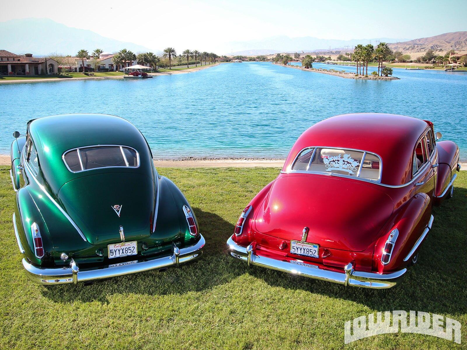 1946 Cadillac Club Coupe 62 Series and 1947 Cadillac Sedan ...  1946 Cadillac C...