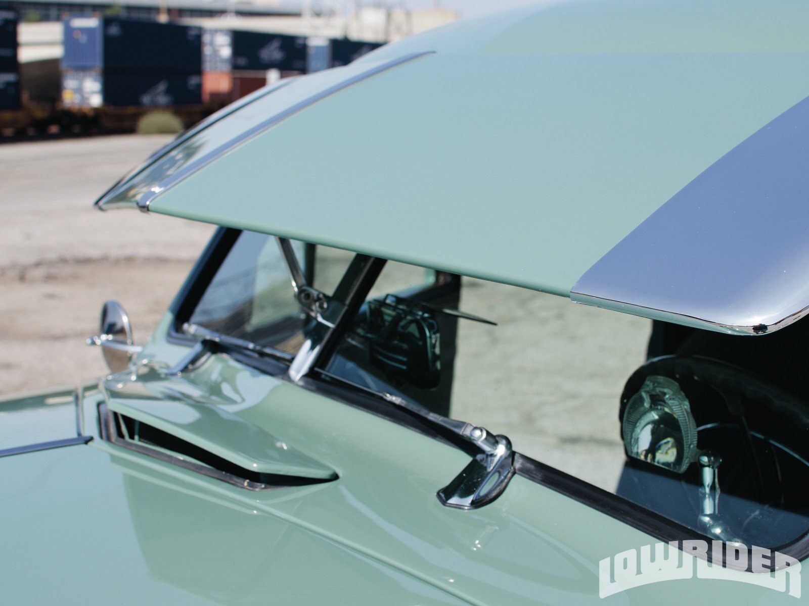 Chevrolet Business Coupe Windshield Visor on 1985 Buick Regal