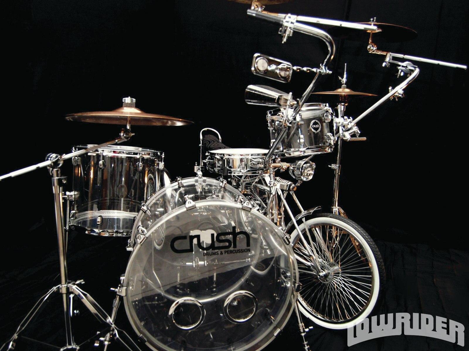Custom Tricycle Drum Kit Lowrider Magazine