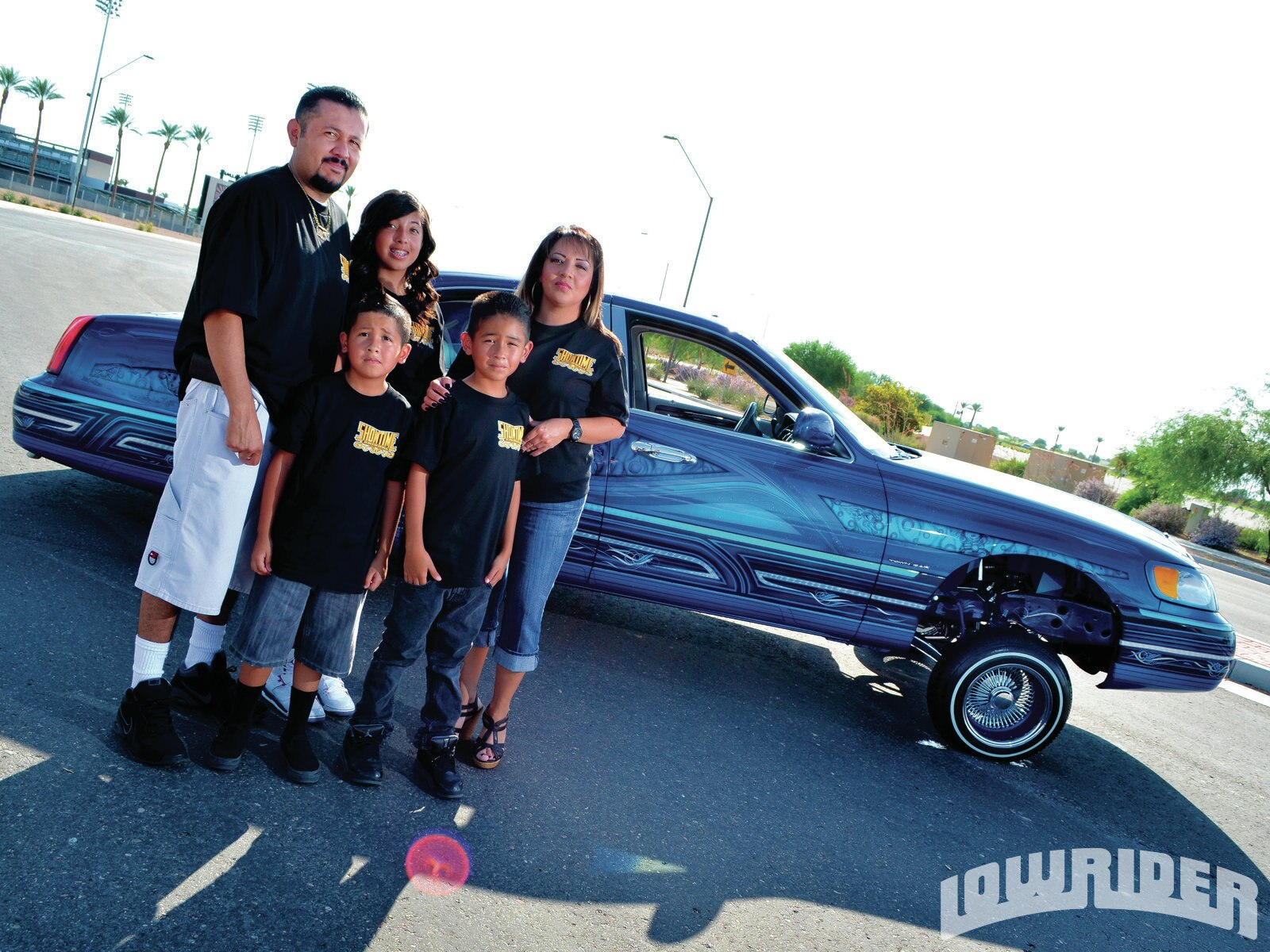 1998 Lincoln Town Car Lowrider