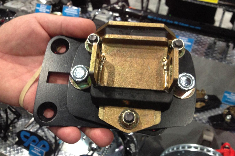 Performance Technology: New Adjustable LS Motor Mount Adaptors At 2013 SEMA