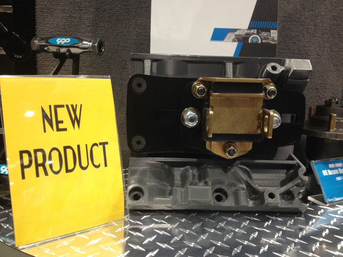 Finally someone steps to the plate out here at the Sema Show and delivers a home run by building an adjustable motor mount adaptor for the always growing LS engine market. Thanks to Classic Performance Products these new motor mounts will allow you to bolt your LS engine in place without having to guess which motor mount adapters to use. This is due to the adjustability designed into the bracket making a transplant easier and able to accomplish in just a few hours time. This built in the USA part is laser cut and machined to allow the the motor mounts to adjust freely. With the LS engine being the next small block it is time to adjust yourself to the next adjustable motor mount on the market today!