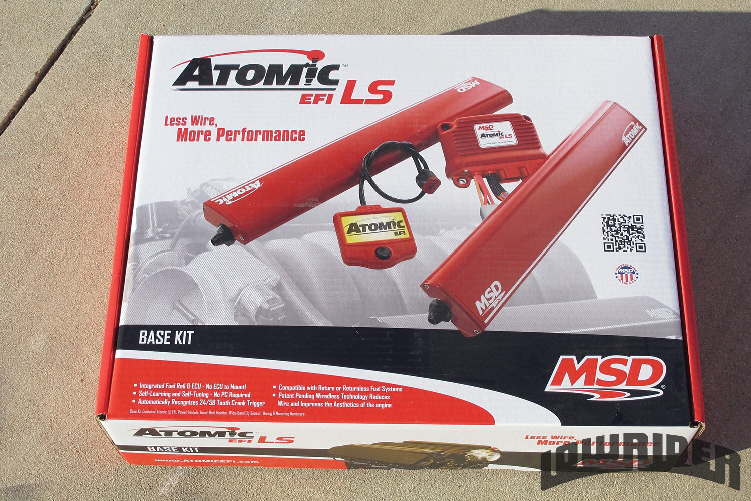 <strong>2</strong>. The MSD LS Atomic came in one package.