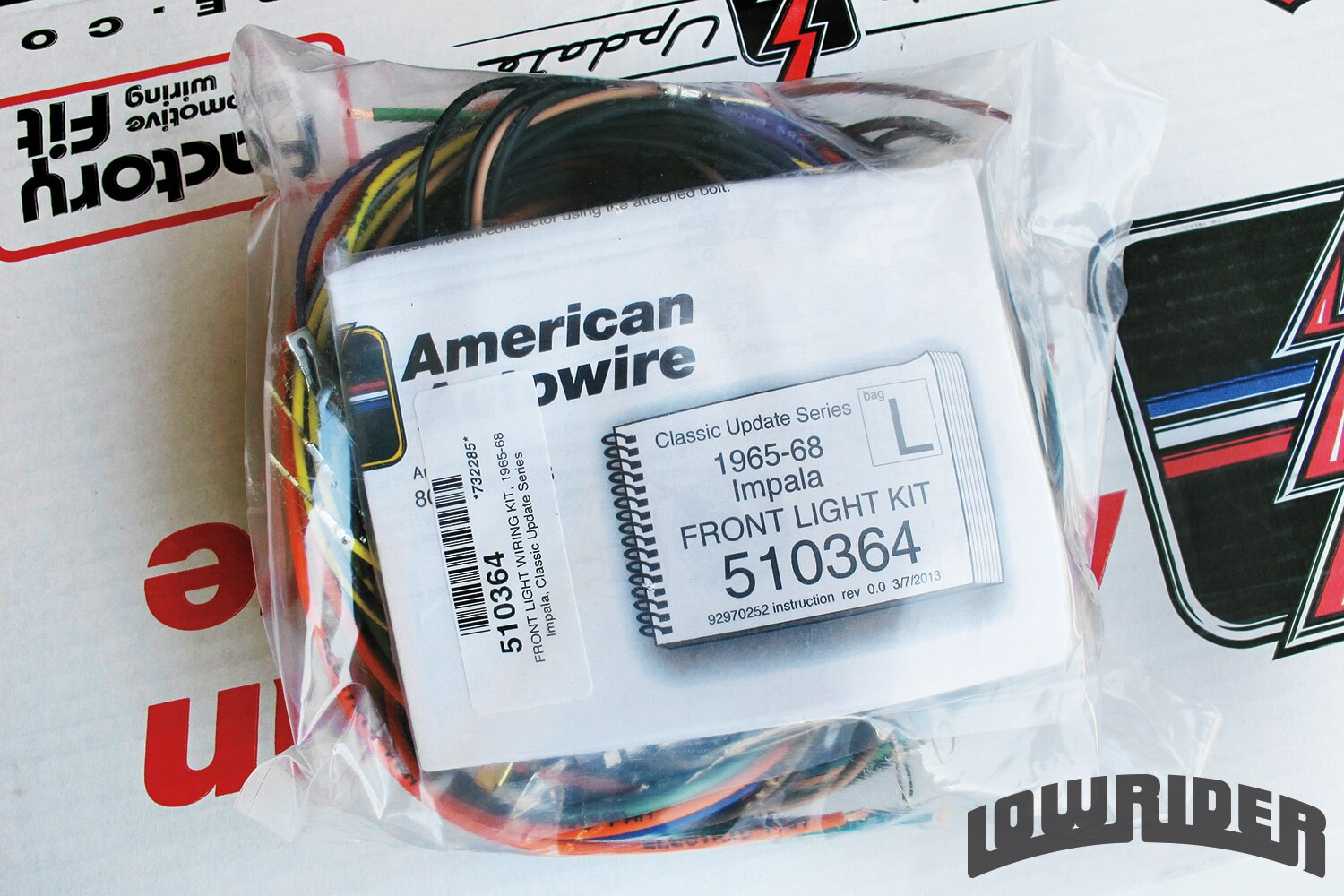 <strong>4</strong>. This kit is fully labeled, and you can see the quality and the gauge of the wiring.