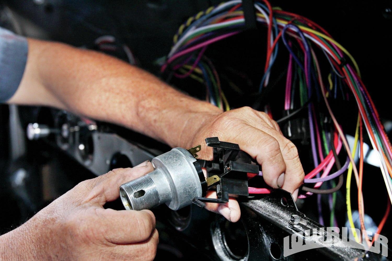 American Autowire Install - Lowrider Magazine