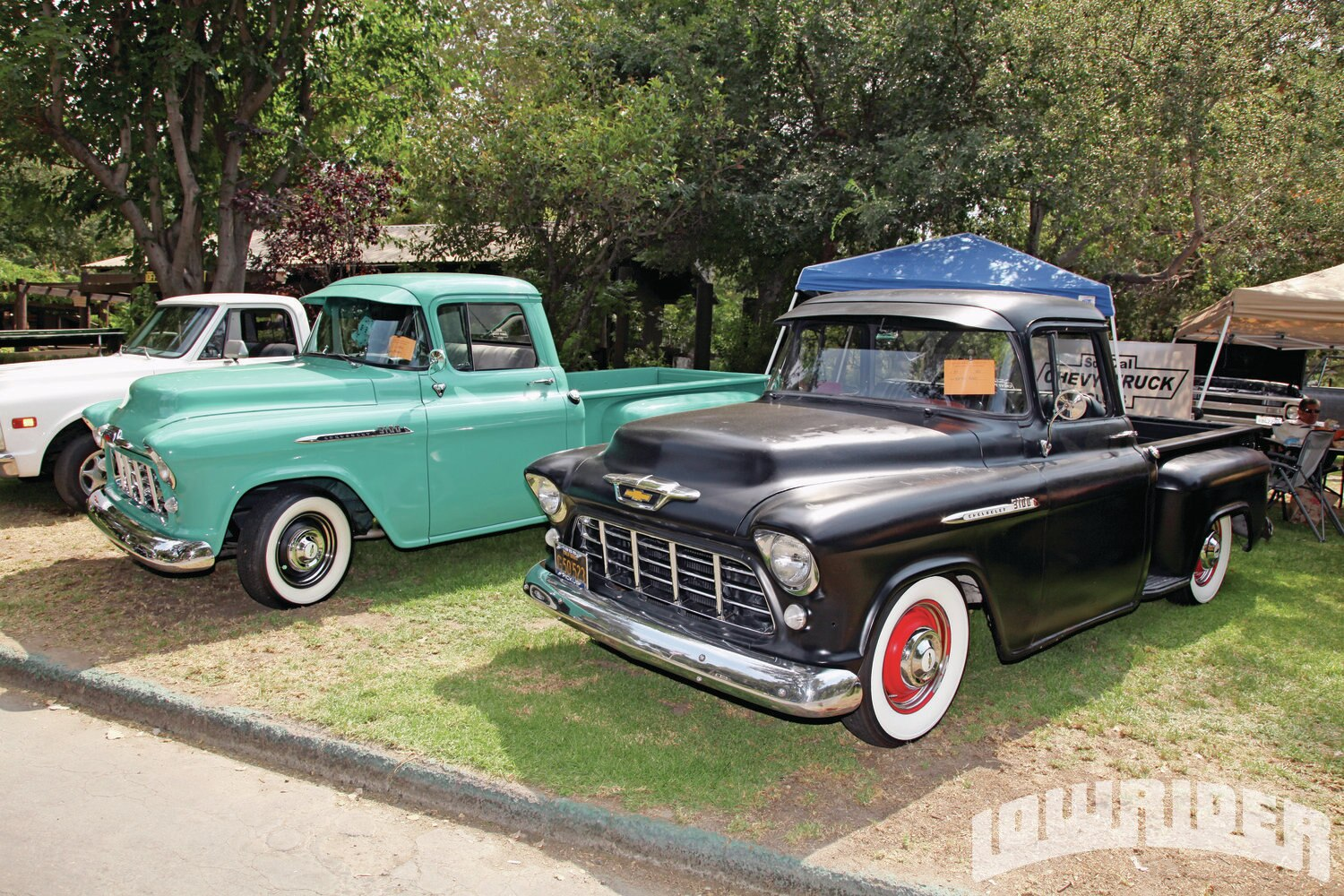 brothers truck show lowrider magazine. Black Bedroom Furniture Sets. Home Design Ideas