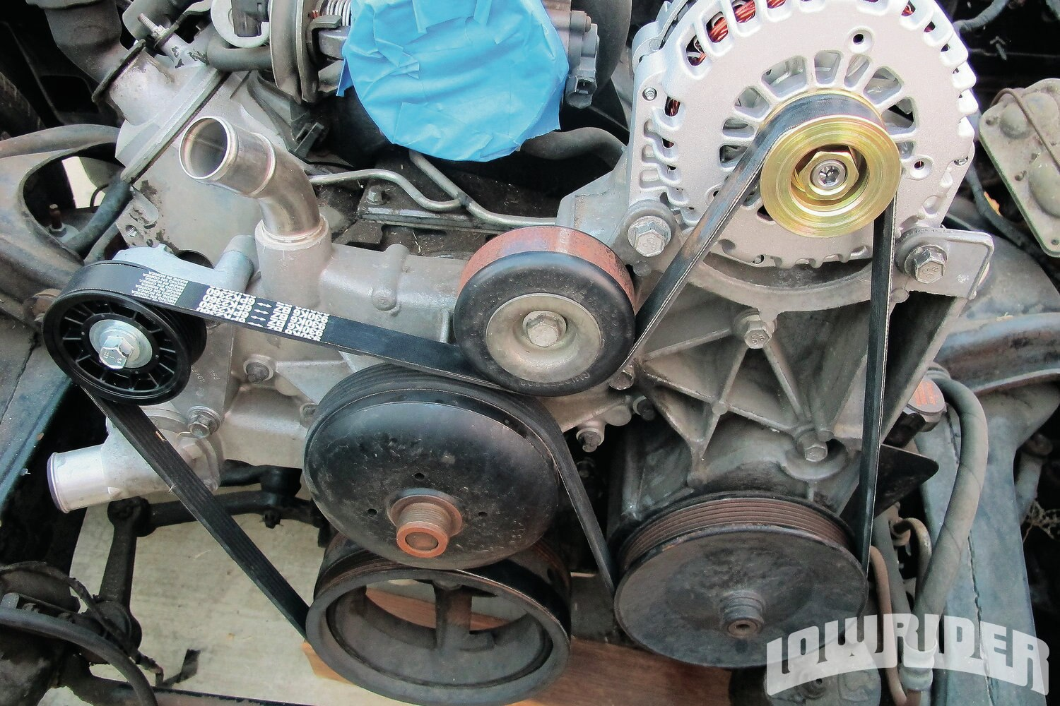 <strong>7</strong>. This alternator is now ready to charge at your ride's lifestyle.