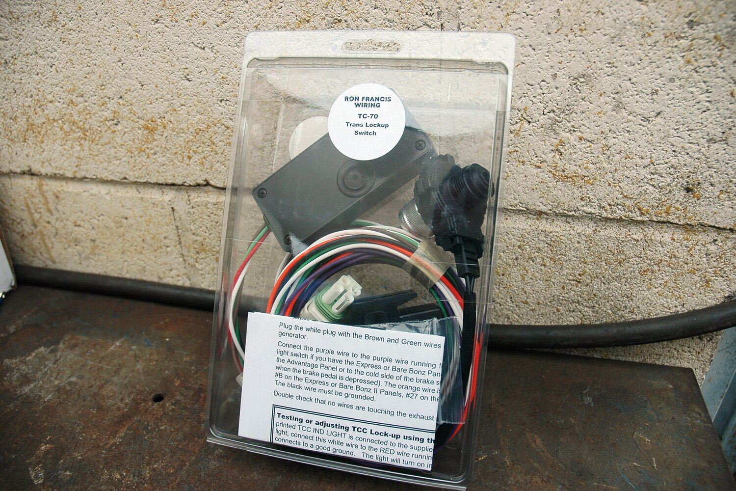 ron-francis-700R-transmission-lockup-switch-TC-70-promo