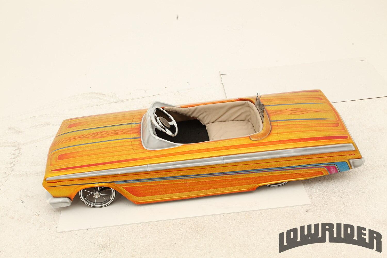 San Tan Chevy 1962 Chevrolet Impala Pedal Car - Lowrider Magazine