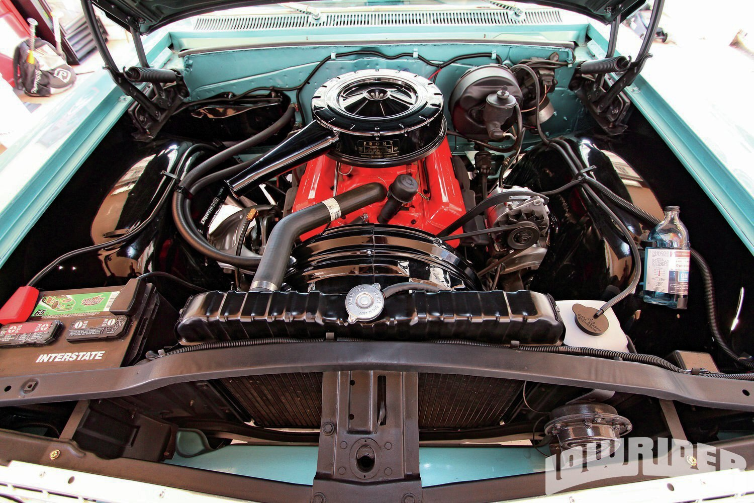 1964 chevy impala engine bay  1964  free engine image for