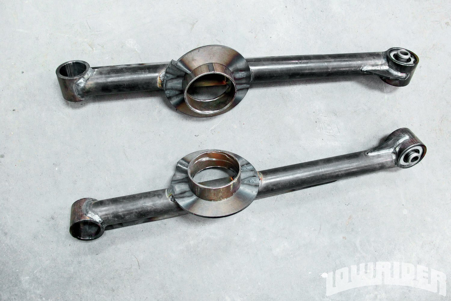 <strong>17</strong>. These Currie trailing arms are perfect for the stock locations and will work on your Impala, from stock to active suspension applications.