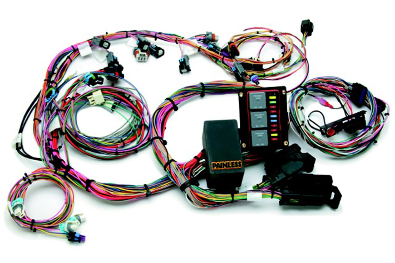 lowrider-new-products-march-2014-painless-performance-LS-harness-promo