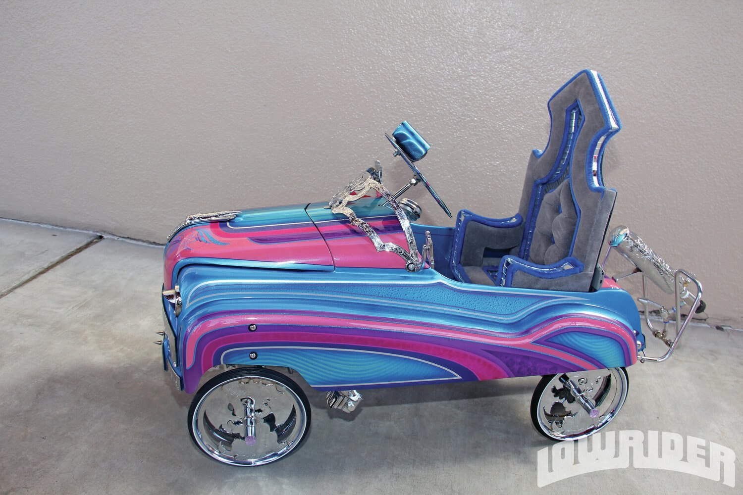 Mya Monster Pedal Car Lowrider Magazine