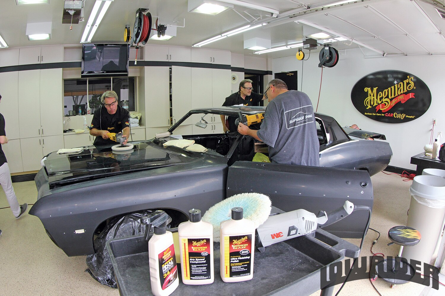 <strong>1</strong>. The Meguiar's team consisted of only the best in the field.