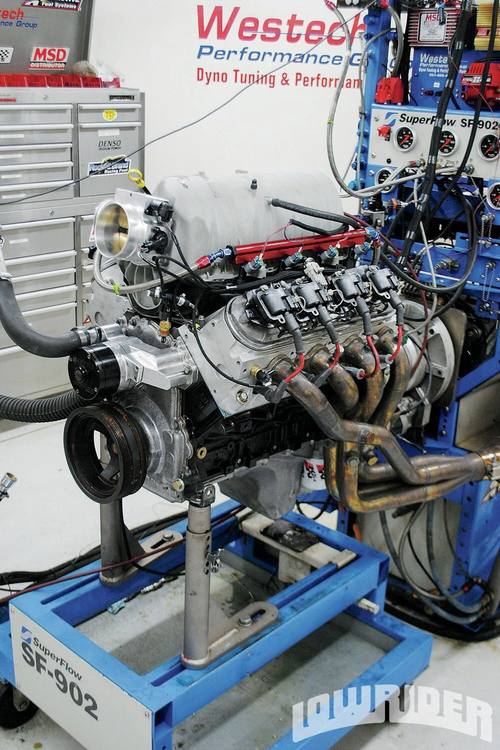 <strong>12</strong>. After installation of the TEA heads, Crane cam and FAST intake, the power jumped significantly. On the 4.8L, the upgraded increased power from 333 hp and 343 lb-ft to 476 hp and 392 lb-ft. On the 5.3L, the swap pushed the peak numbers from 344 hp and 379 lb-ft to 484 hp and 424 lb-ft of torque.
