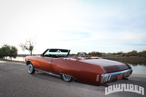 1970 chevrolet impala convertible rear left side view lowrider leave a comment sciox Images