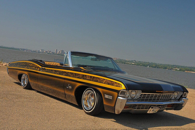 1968 chevrolet impala lethal weapon. Black Bedroom Furniture Sets. Home Design Ideas