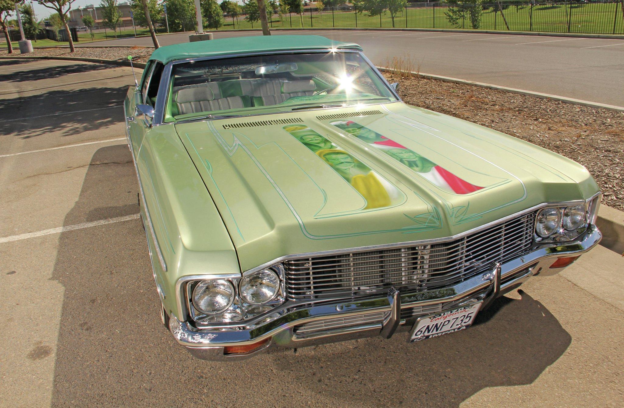 1970 chevrolet impala convertible los jefes los 721 sciox Images