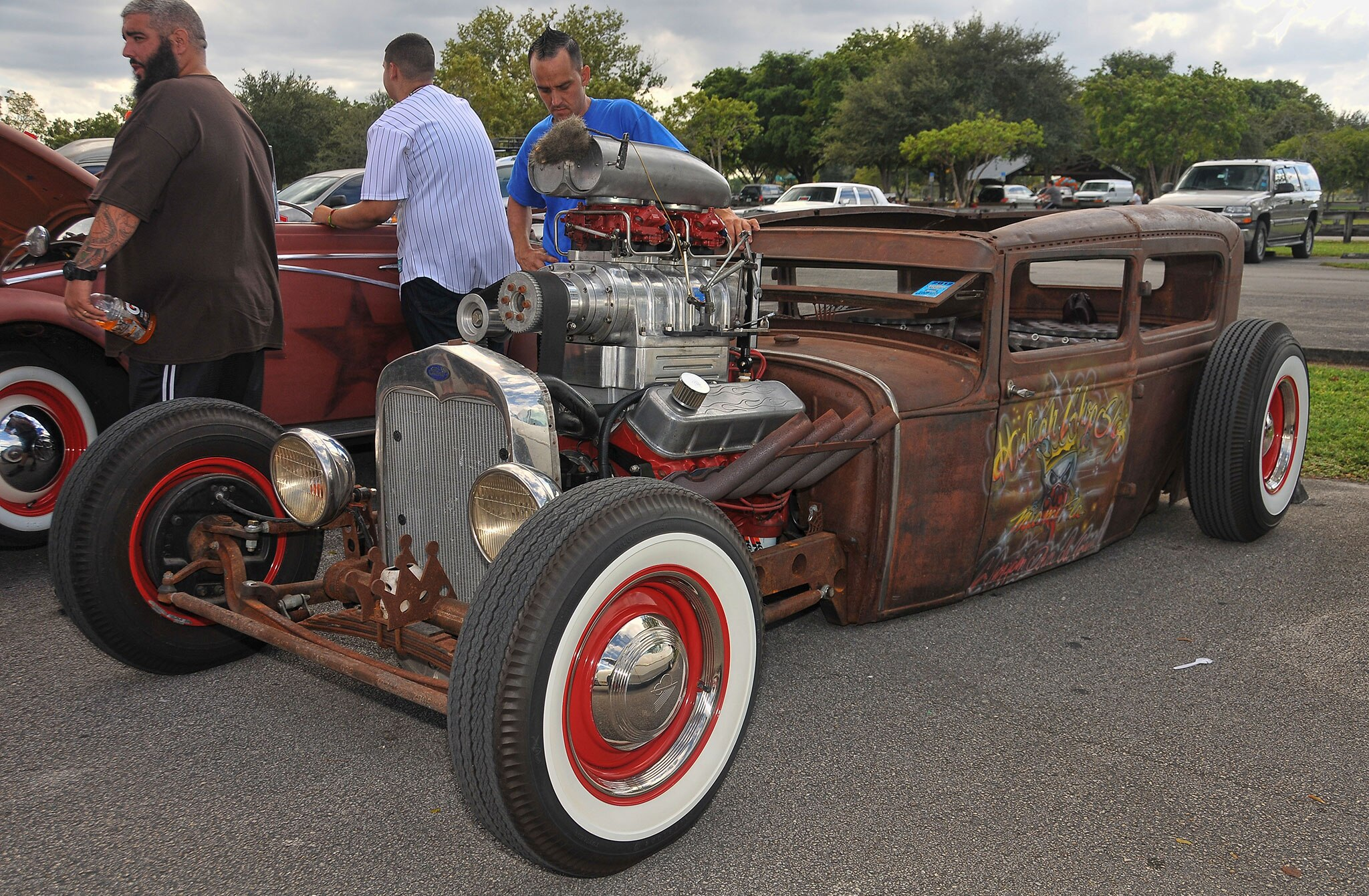 Good Times Picnic And Car Show Ratrod 28 Lowrider